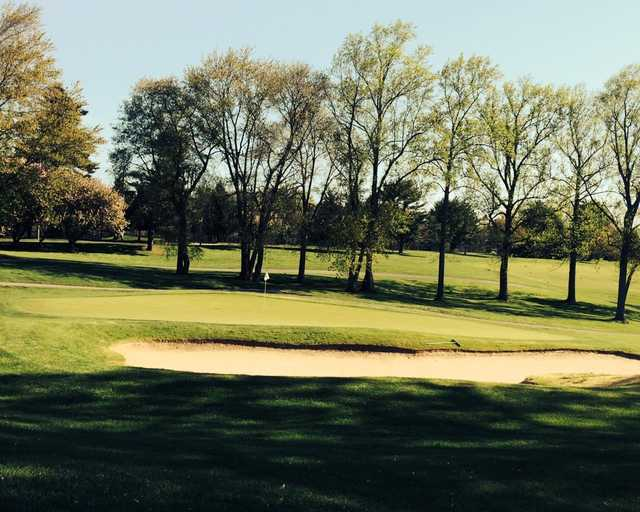 A sunny day view from Deerfield Golf & Tennis Club