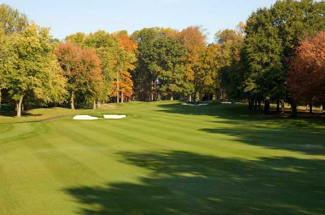A fall view from Garrisons Lake Golf Club