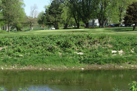 A view over the water from Cazenovia Golf Course