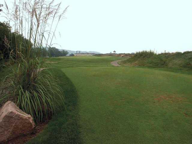 A view from the Links at Rising Star Casino