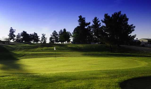 A view of the 14th hole at Green Tree Golf Course