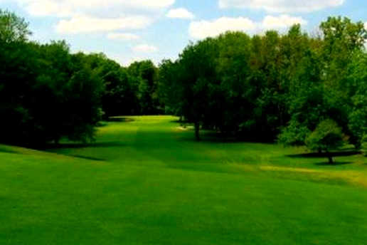 A view of a fairway at Davison Country Club