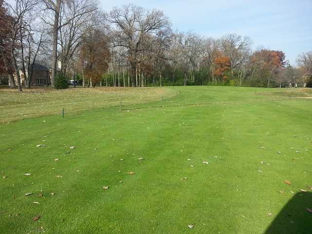 A fall view from Deerfield Golf Club