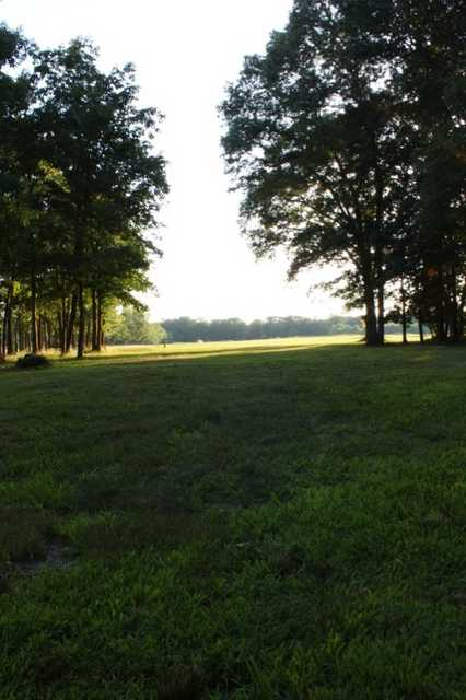 A view of the 14th fairway at Centerton Golf Club