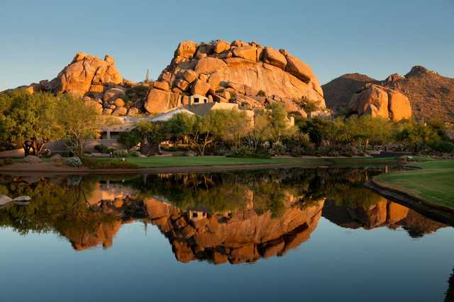 A view from Boulders Golf Club & Resort