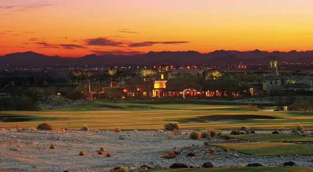 A sunrise view at Founder's Course from Verrado Golf Club.