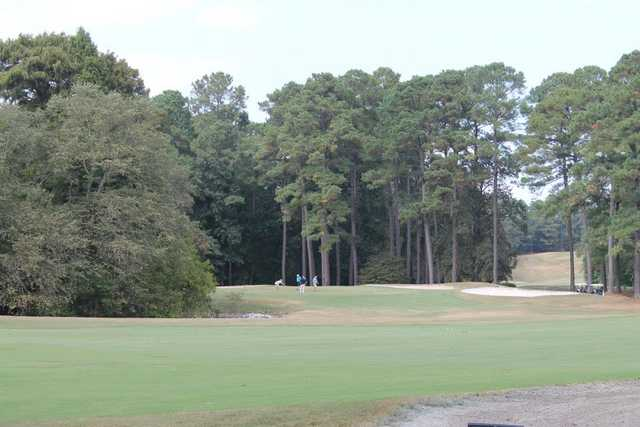 A view from a fairway at the Country Club of South Carolina