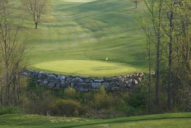 A view of a hole at Lebanon Valley Golf Course