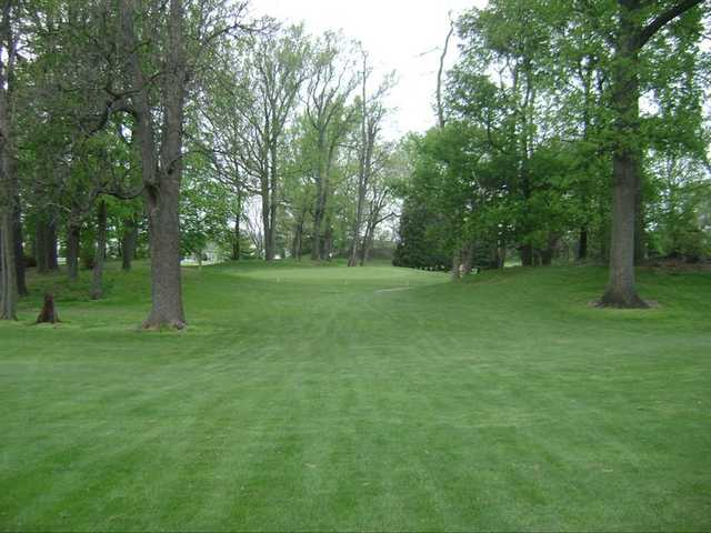 A view from the 4th fairway at Village Greens Golf Course