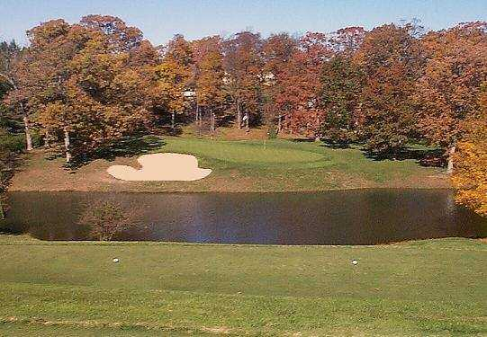 A view from a tee at Heidelberg Country Club