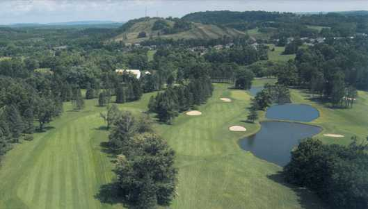 A view from Heidelberg Country Club