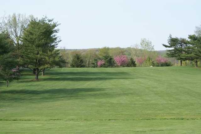 A view from Blue Mountain View Golf Course