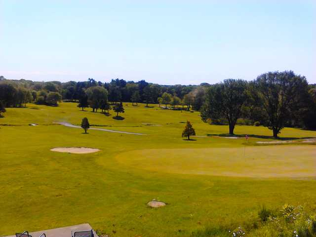 A view of a green at Hillside Country Club