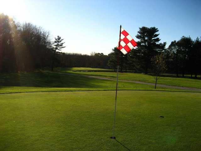 A view of a hole at Stone - E - Lea Golf Course