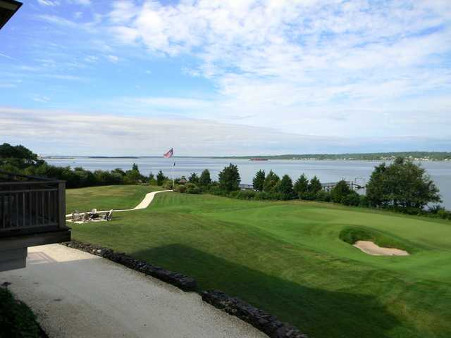 A view from The Aquidneck Club