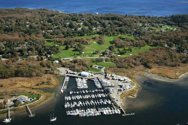 Aerial view of Harbor Lights Golf & Country Club