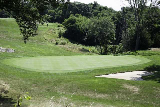 A view of a green at Midville Country Club