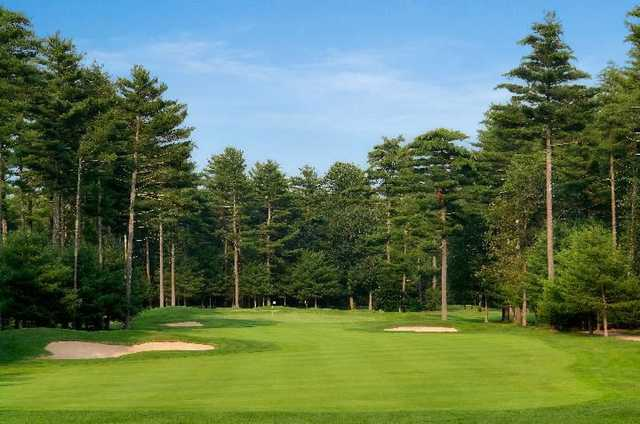 A view from a fairway at Richmond Country Club