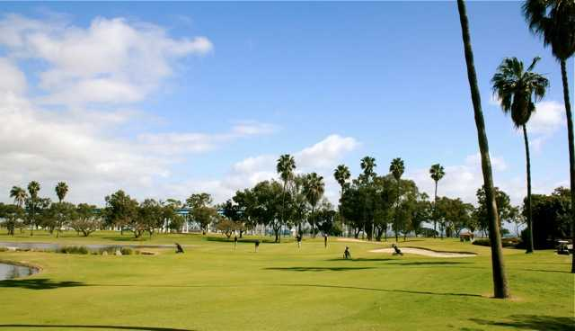 Coronado Golf Course near the heart of downtown San Diego