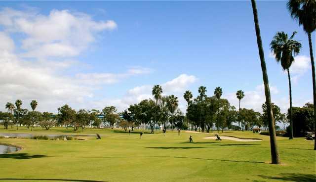 Coronado Golf Course near the heart of downtown San Diego