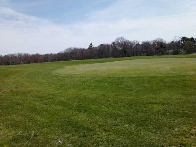 A view of a hole at Wood River Golf Course