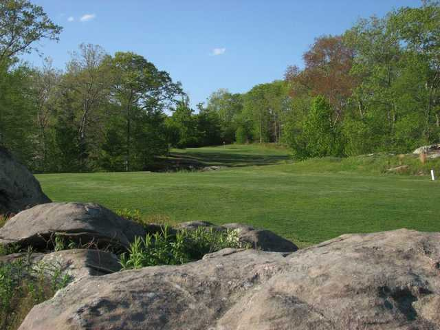 A view of the 16th fairway at Wood River Golf Course