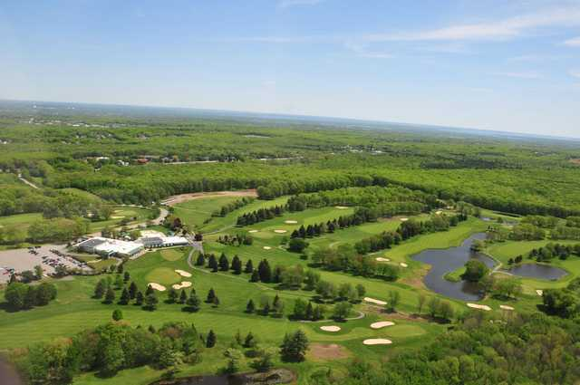 Aerial view from Alpine Country Club