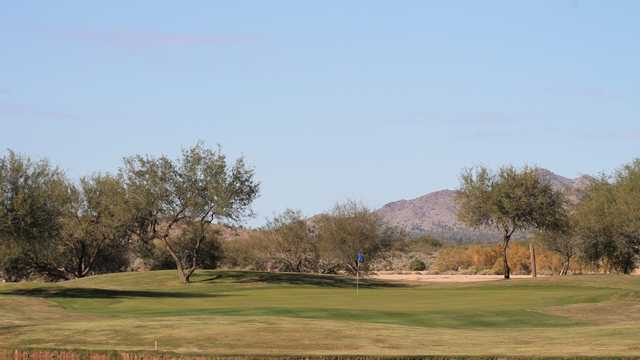 A view of a green at Dave White Golf Course