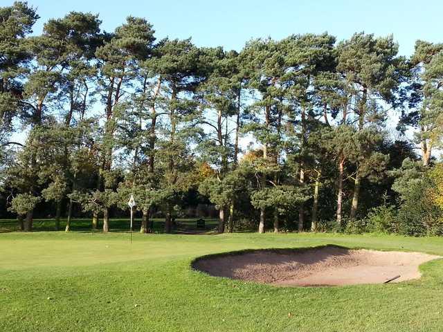 A view of the 6th green at Ruddington Grange Golf Club