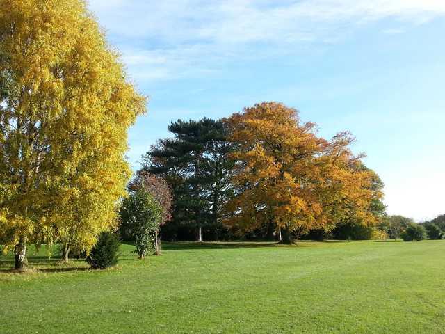 A view of fairway #11 at Ruddington Grange Golf Club