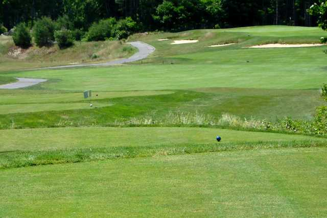 A view from a tee at Acushnet River Valley Golf Course