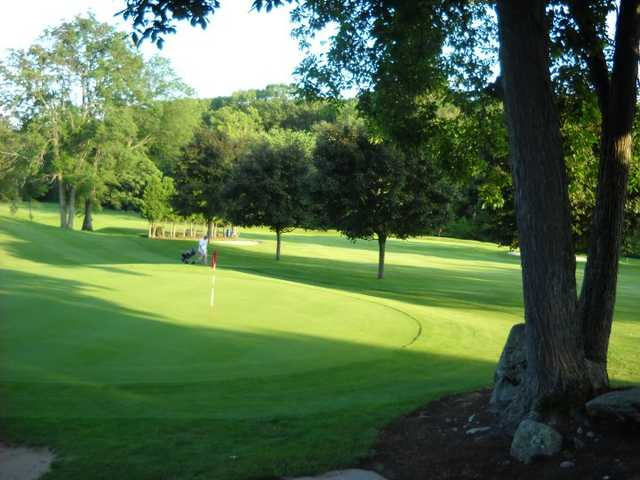 A view of a hole at Fairlawn Golf Course