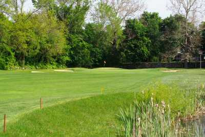 A view of the 9th fairway at Lincoln Country Club