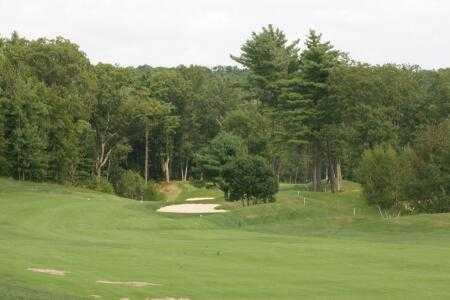 A view of a fairway at Crystal Lake Golf Club