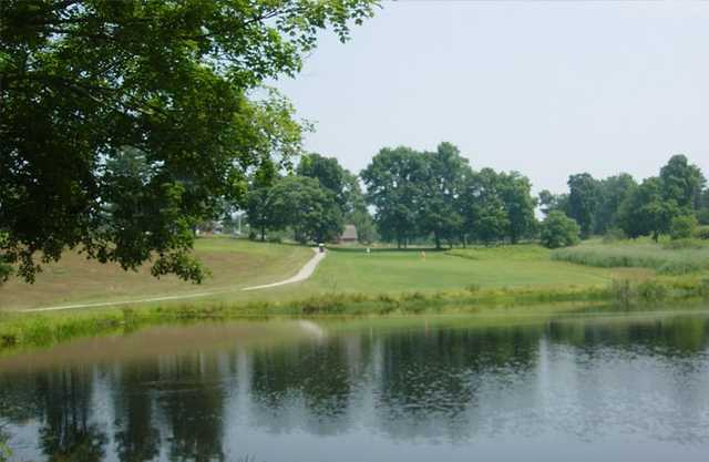 A view over the water from Brooklyn Country Club