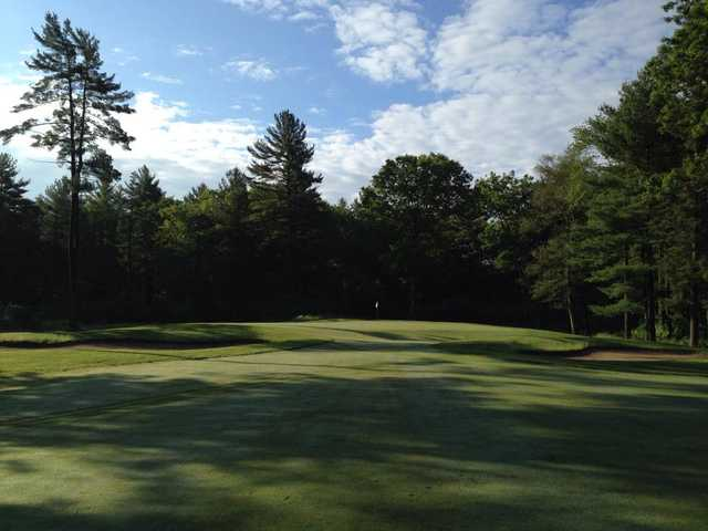 A view from a fairway at West Bridgewater Country Club.