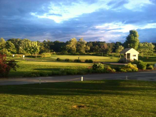 A view from West Bridgewater Country Club.