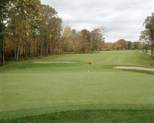A view of a hole at West Bridgewater Country Club.