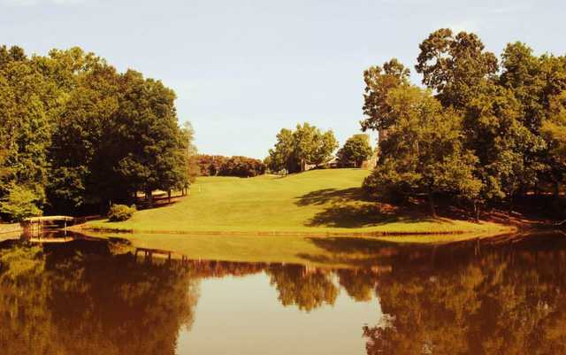 A view over the water from Golden Hills Country Club