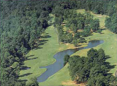Aerial view from Cooper's Creek Golf Course