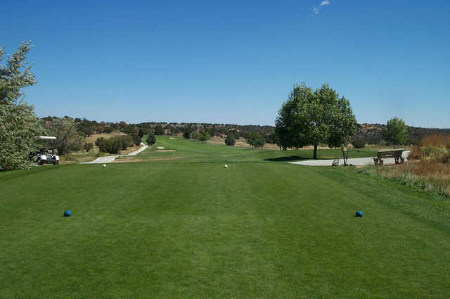 Shadow Hills GG: View from the 1st tee