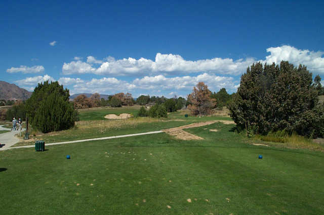 Shadow Hills GG: View from the 2nd tee
