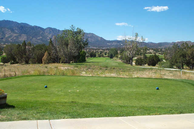 Shadow Hills GG: View from the 2rd tee