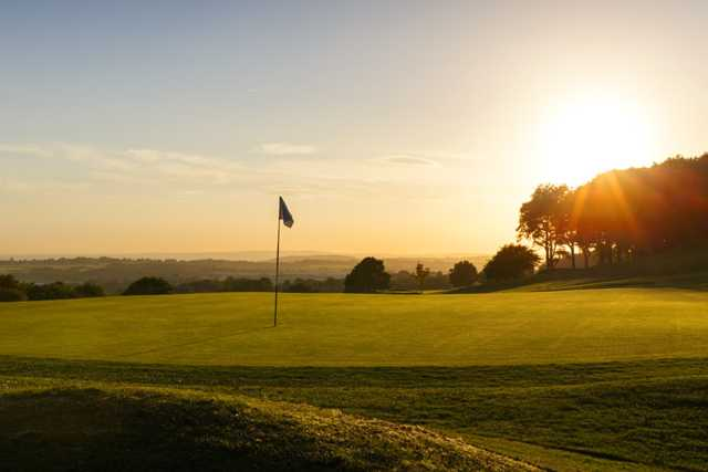 A view of the 4th hole at Bolton Golf Club