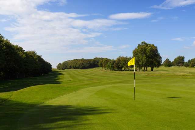 A view of the 5th green at Bolton Golf Club