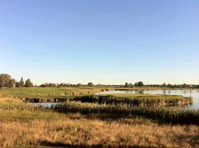 A sunny day view from Strathmore Golf Club