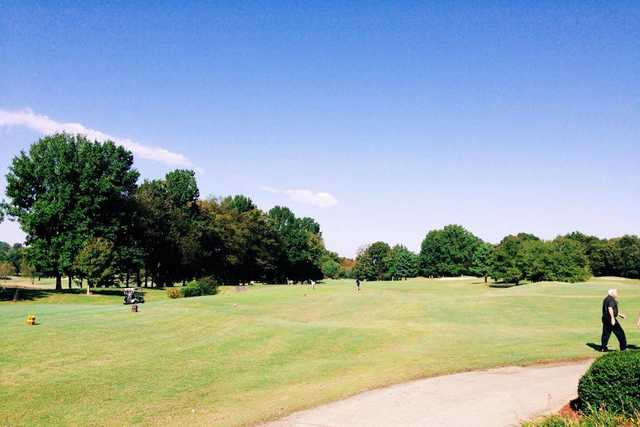A sunny day view from Hermitage Golf Course