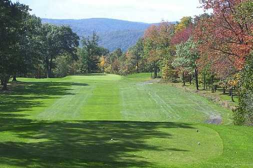 A view from a tee at Two Rivers Golf Course (GolfDigest)