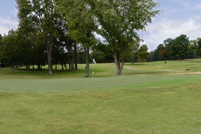 A view of a hole at Old Hickory Country Club