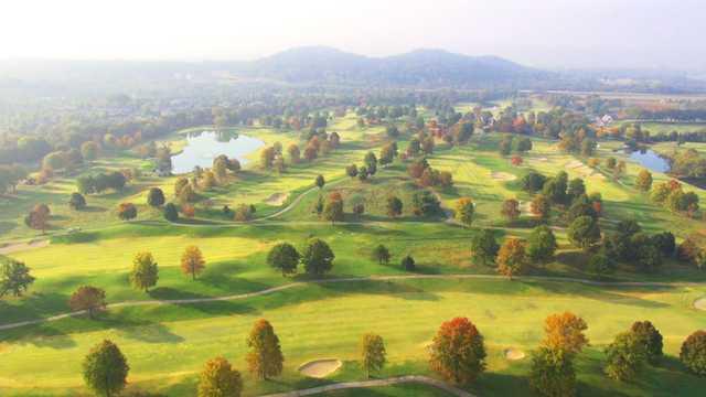 Aerial view from Vanderbilt Legends Club.